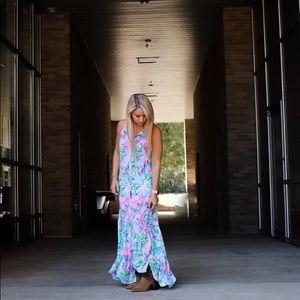 New Lilly Pulitzer Luliana Mermaid Dress- size S